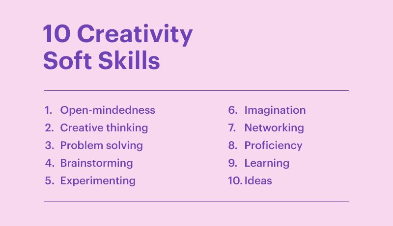 10 Creativity Soft Skills