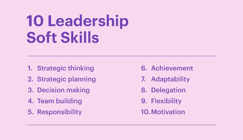 10 Leadership Soft Skills