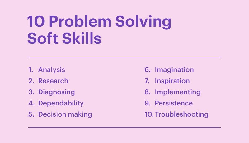 10 Problem Solving Soft Skills