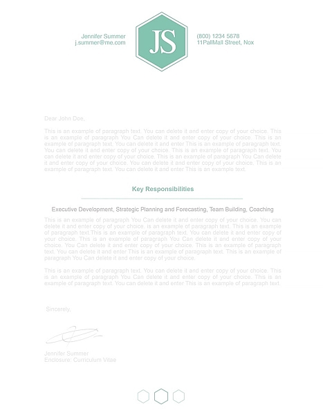 Classic Cover Letter 110620