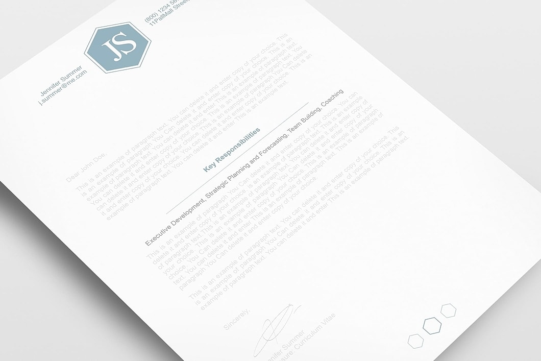 Classic Resume Template 110600 2