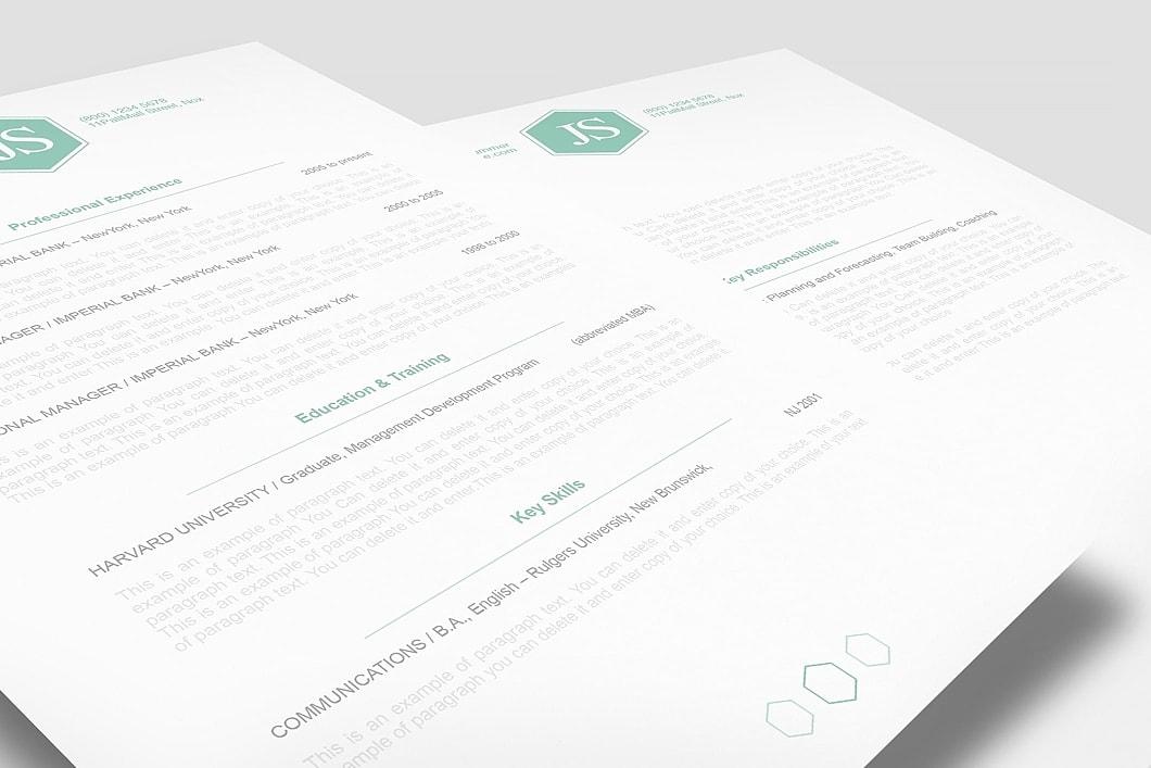 Classic Resume Template 110620 1