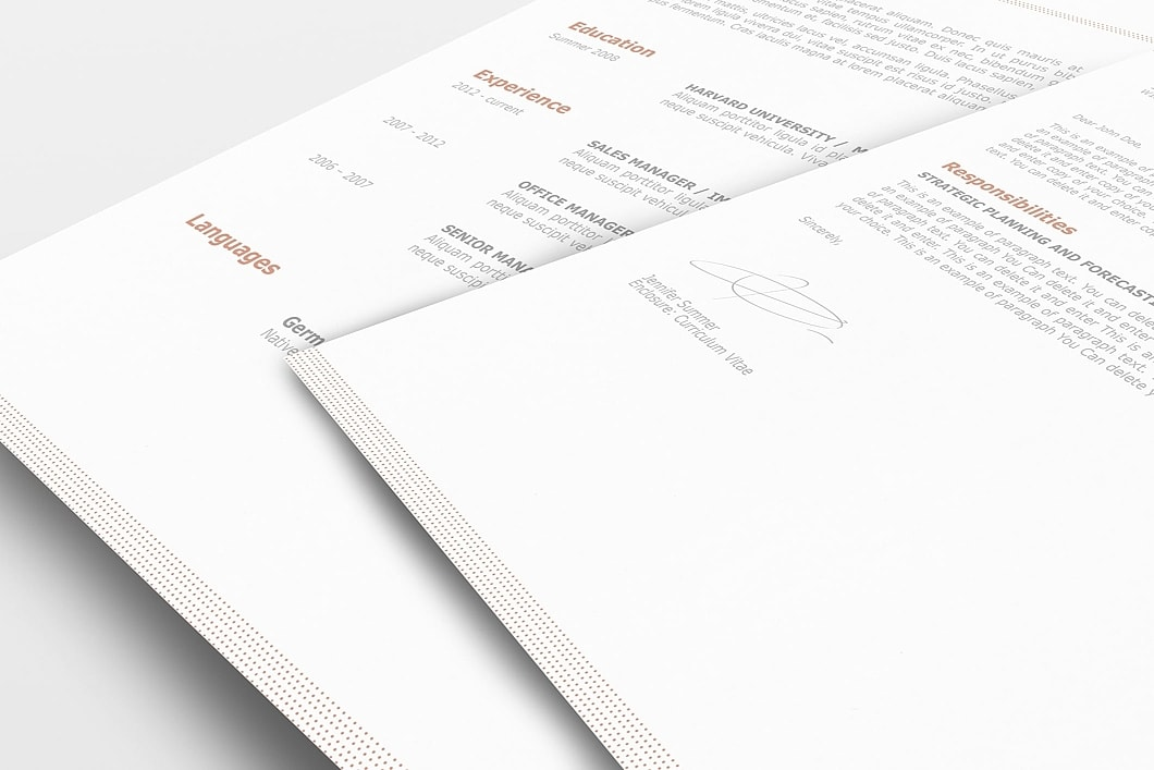 Classic Resume Template 110740 1