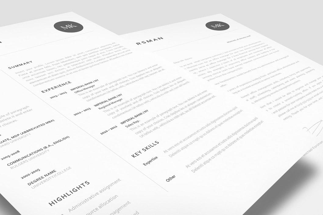 Classic Resume Template 120220 2