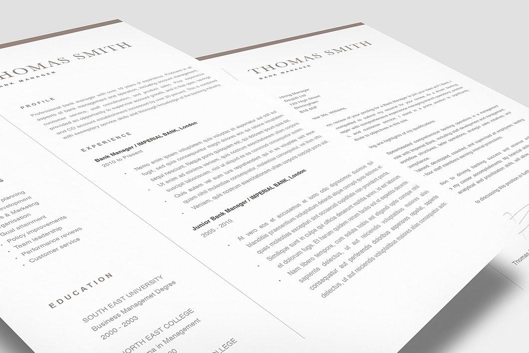 Classic Resume Template 120280 2