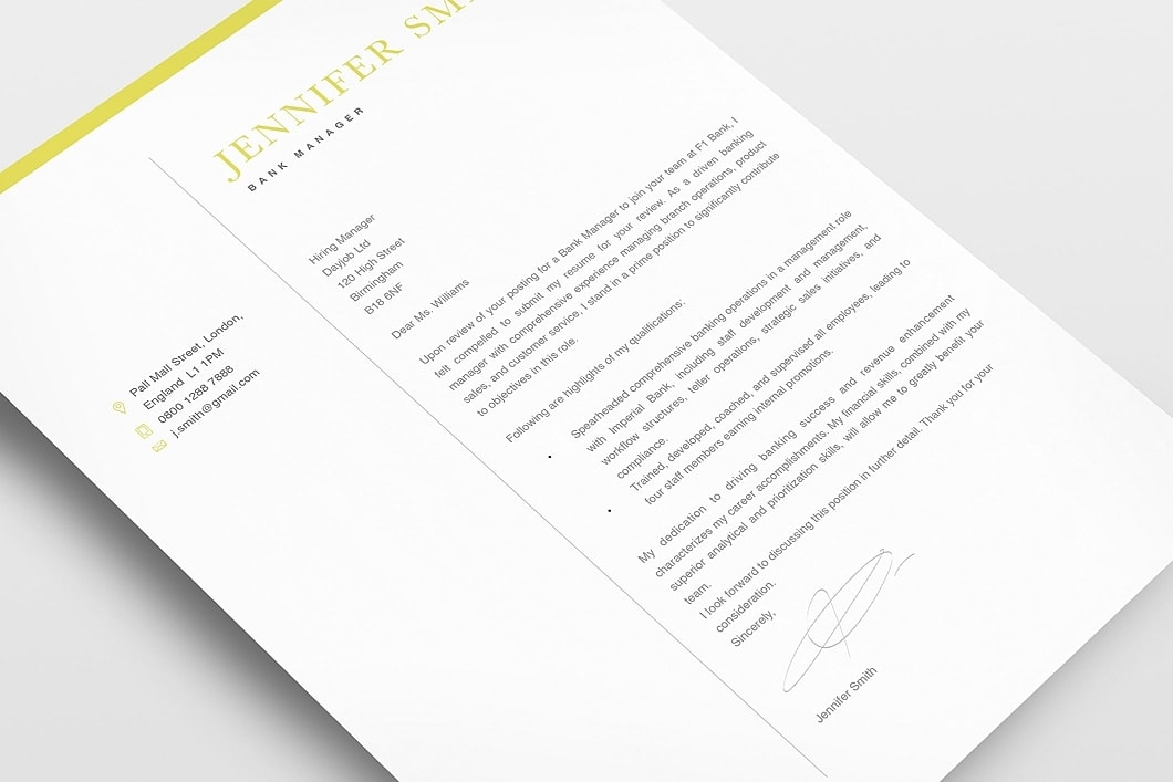 Classic Resume Template 120300 4
