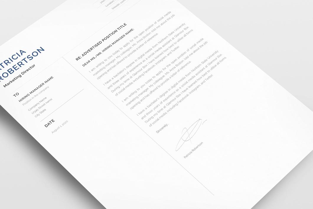 Classic Resume Template 120680 6