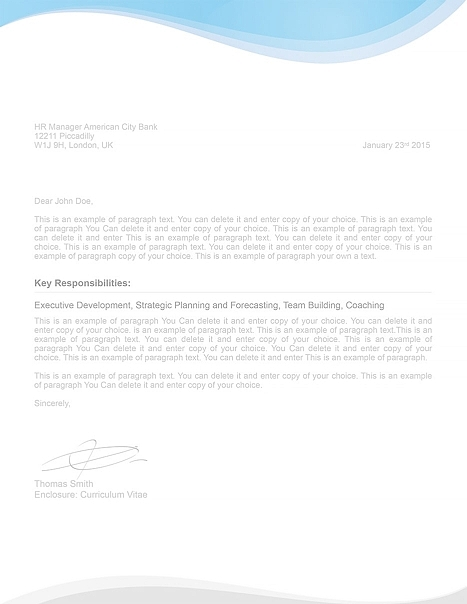 Cover Letter 107080