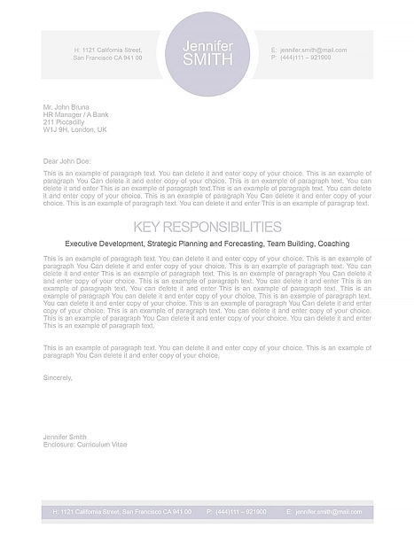 Cover Letter 109090