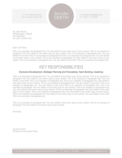 Cover Letter 110010