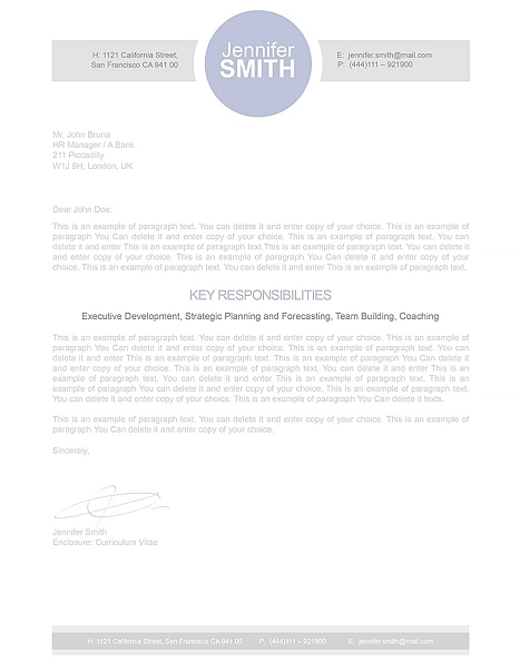 Cover Letter 110330