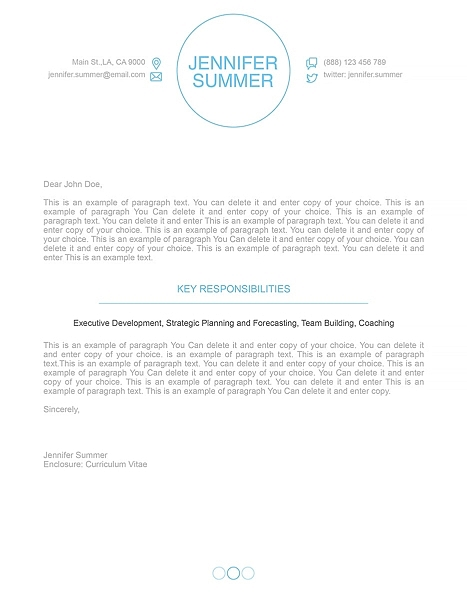 Cover Letter 110400