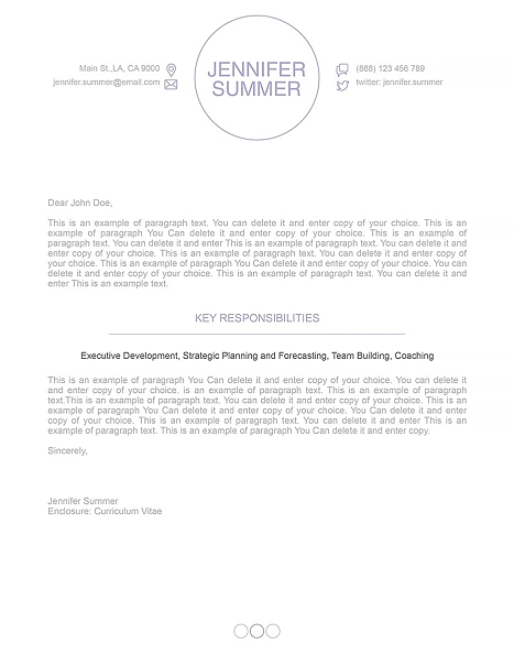 Cover Letter 110410