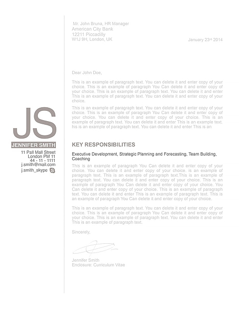 Cover Letter 110530
