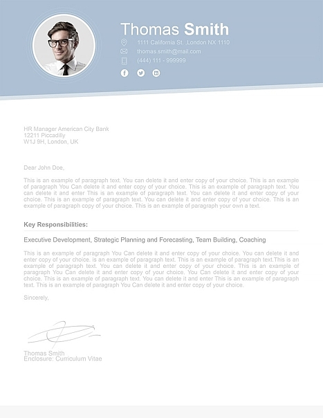 Cover Letter 110700
