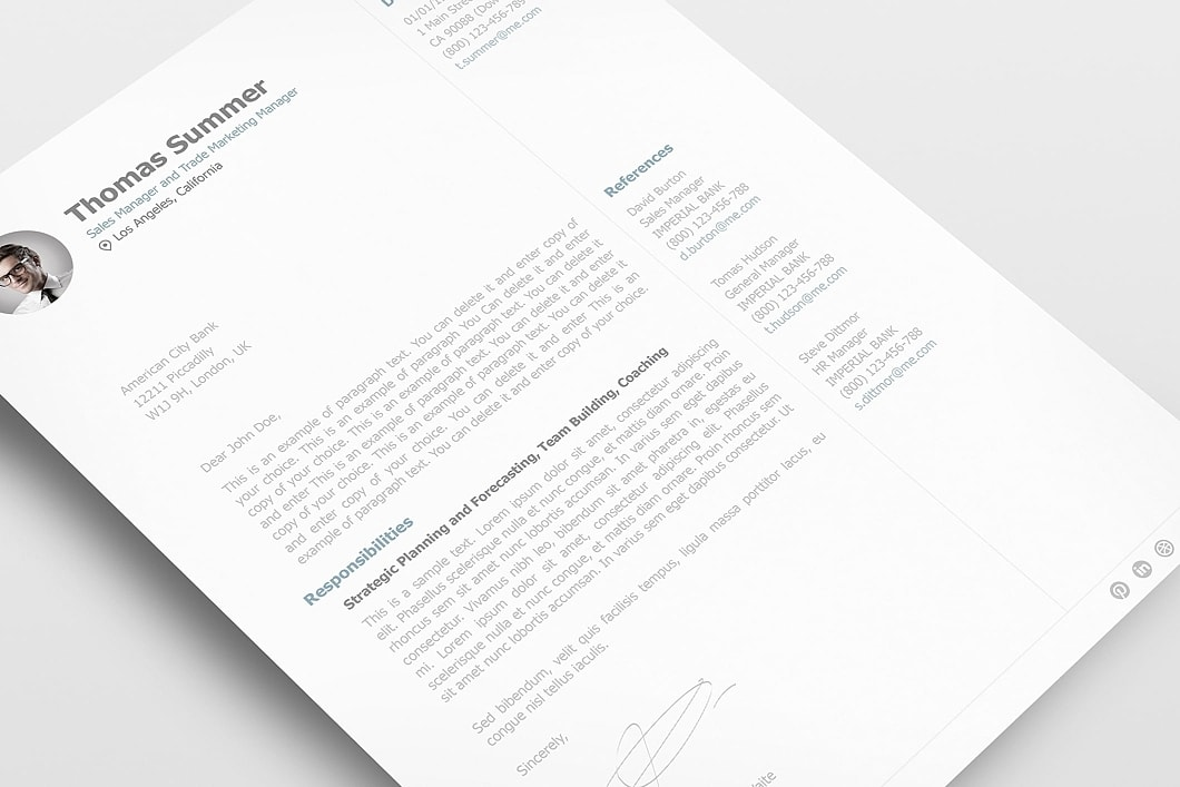 Cover Letter 110940