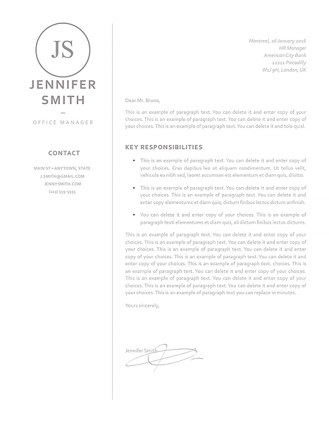 Cover Letter 120030