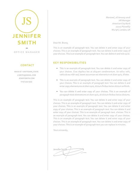 Cover Letter 120050