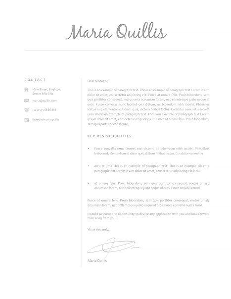 Cover Letter 120160