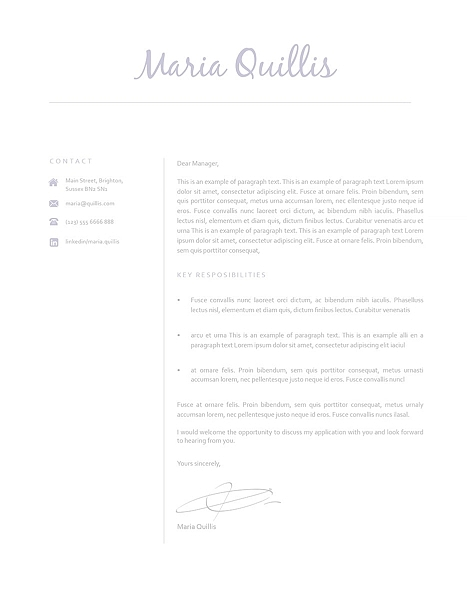 Cover Letter 120170