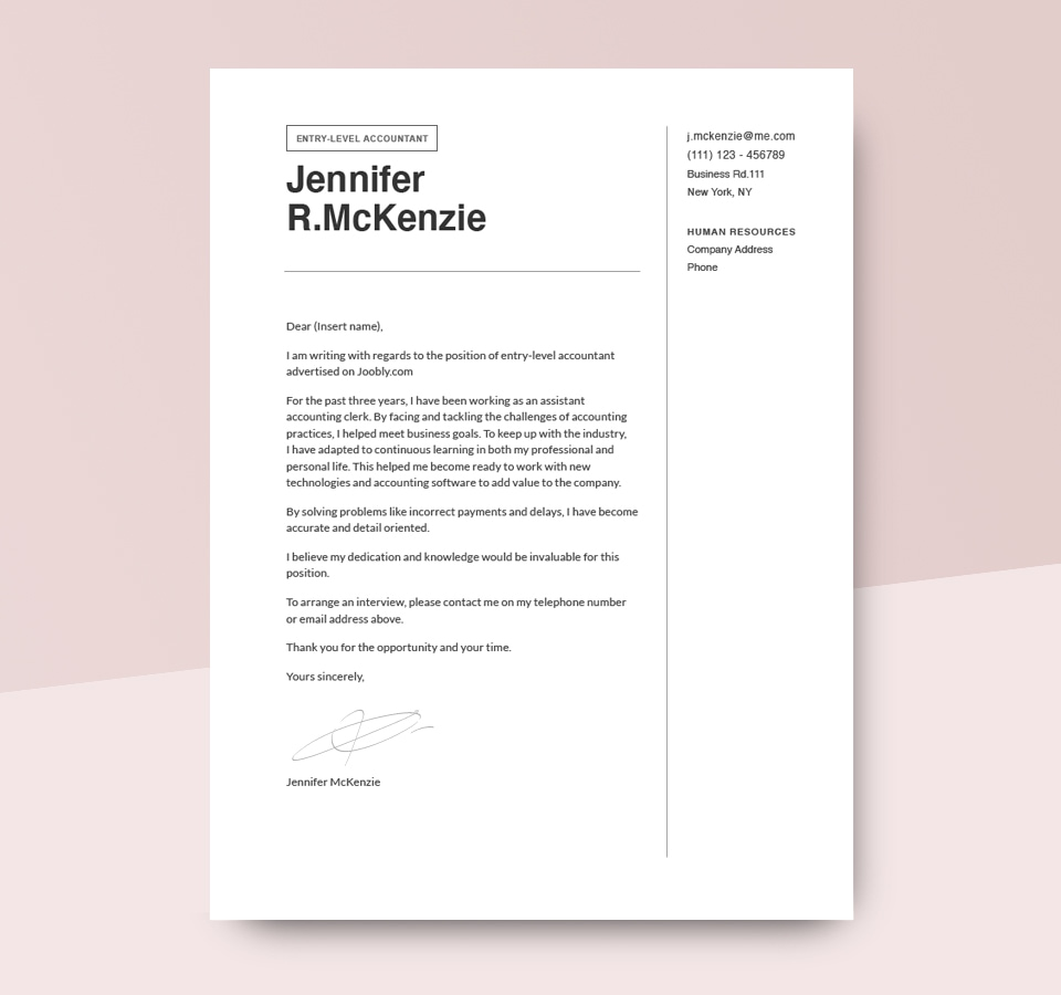 Cover Letter Examples [to Get Inspired In 2020]