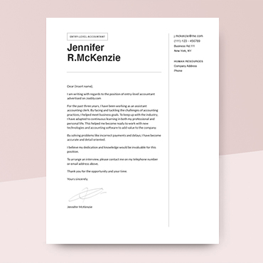 Cover Letter Examples [to Get Inspired In 2020] Hero