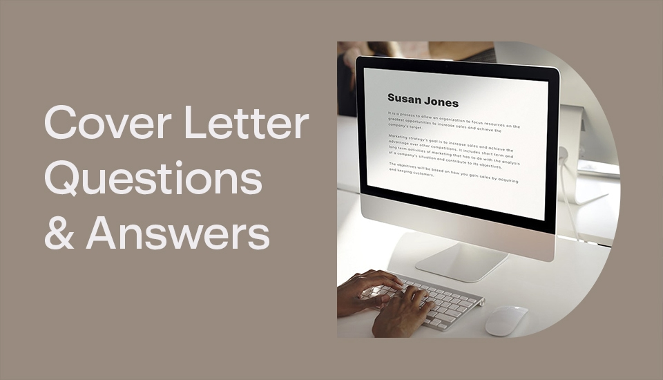 Cover Letter Questions And Answers
