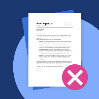 Cover Letter Mistakes Advice