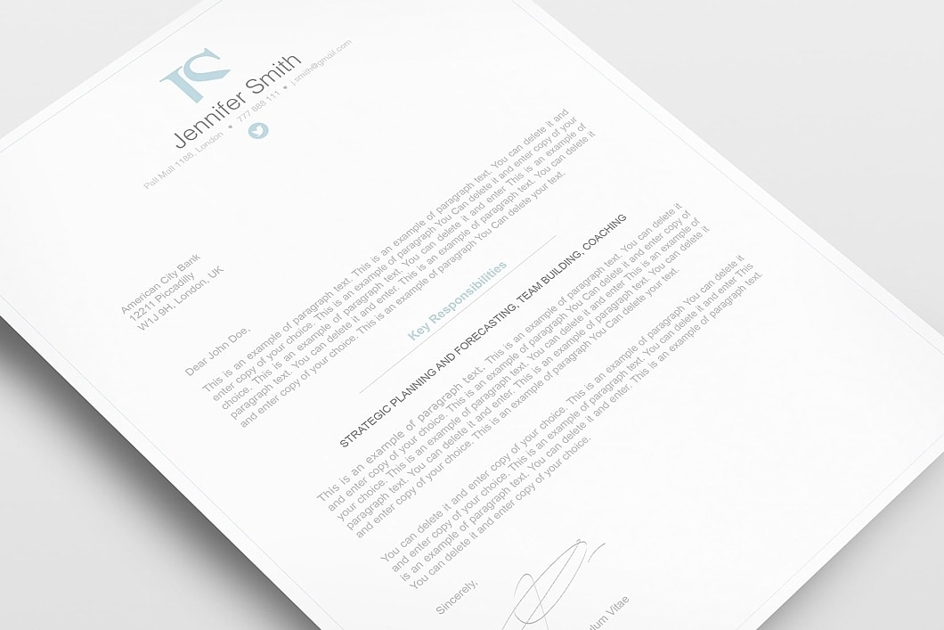 Elegant Resume Template 110830 2