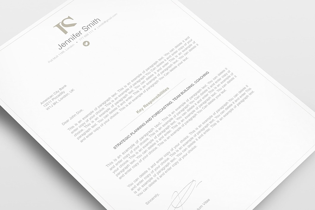 Elegant Resume Template 110850 2