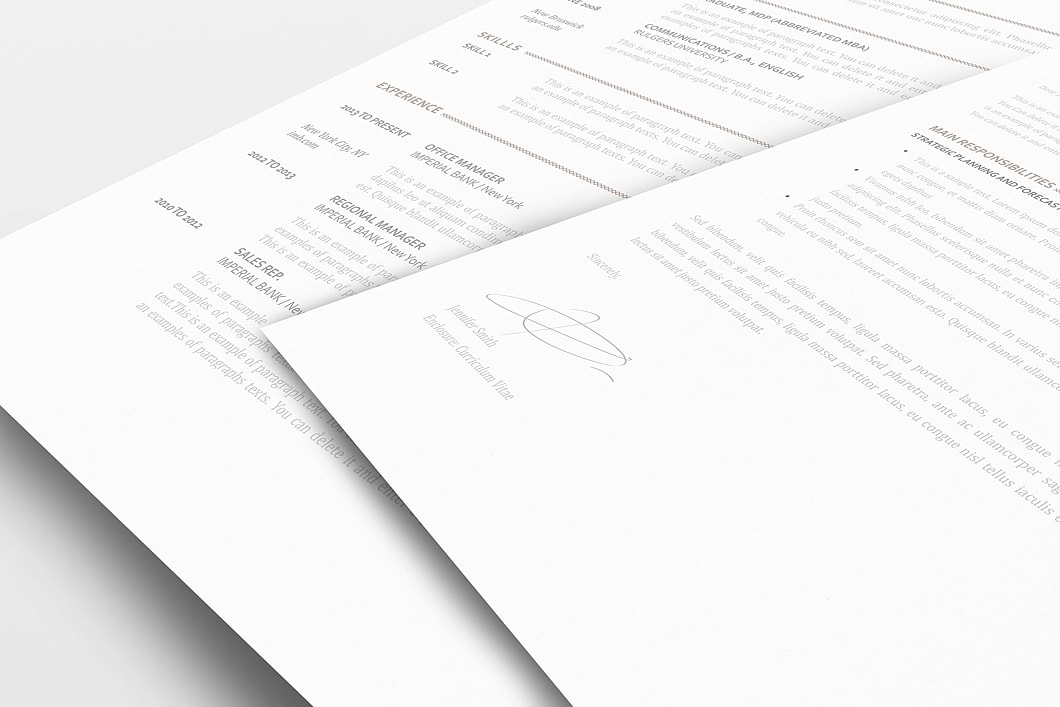Elegant Resume Template 110870 1