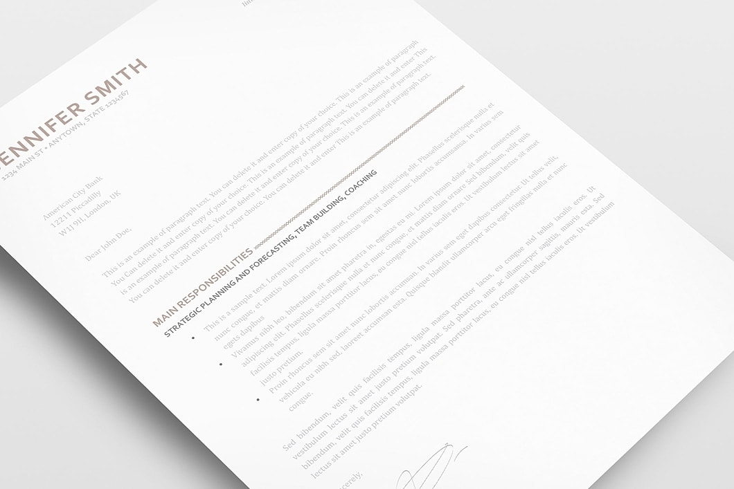 Elegant Resume Template 110870 2
