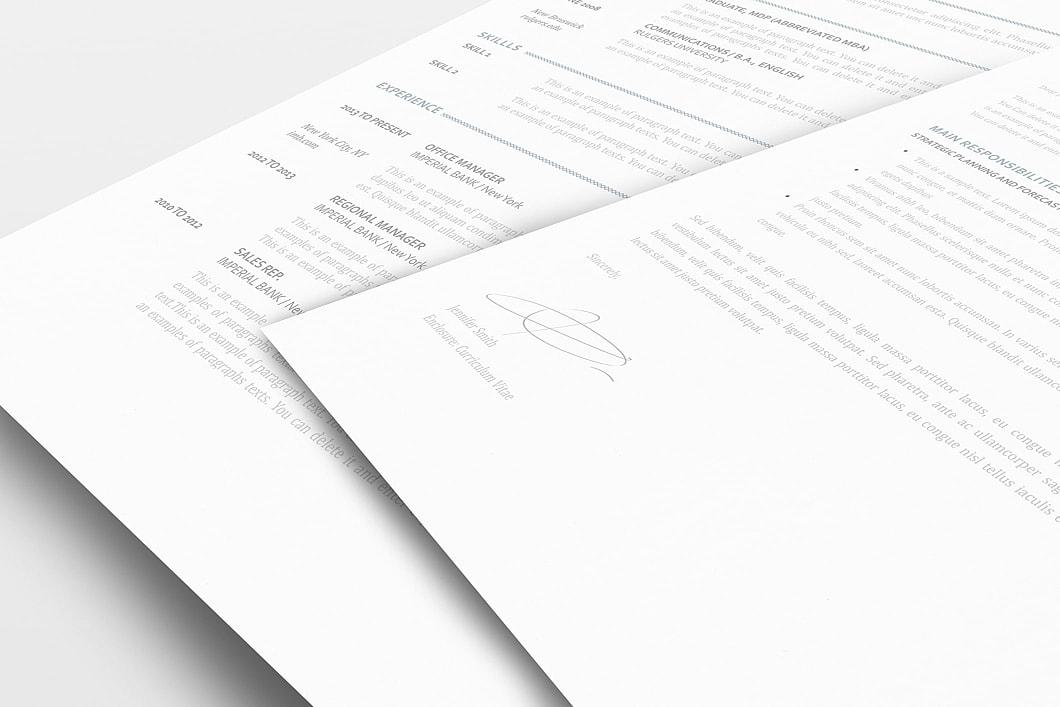 Elegant Resume Template 110890 1