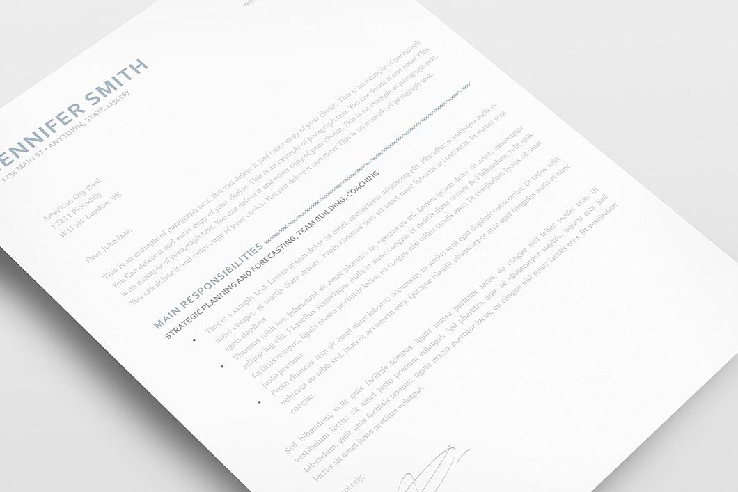 Elegant Resume Template 110890 2
