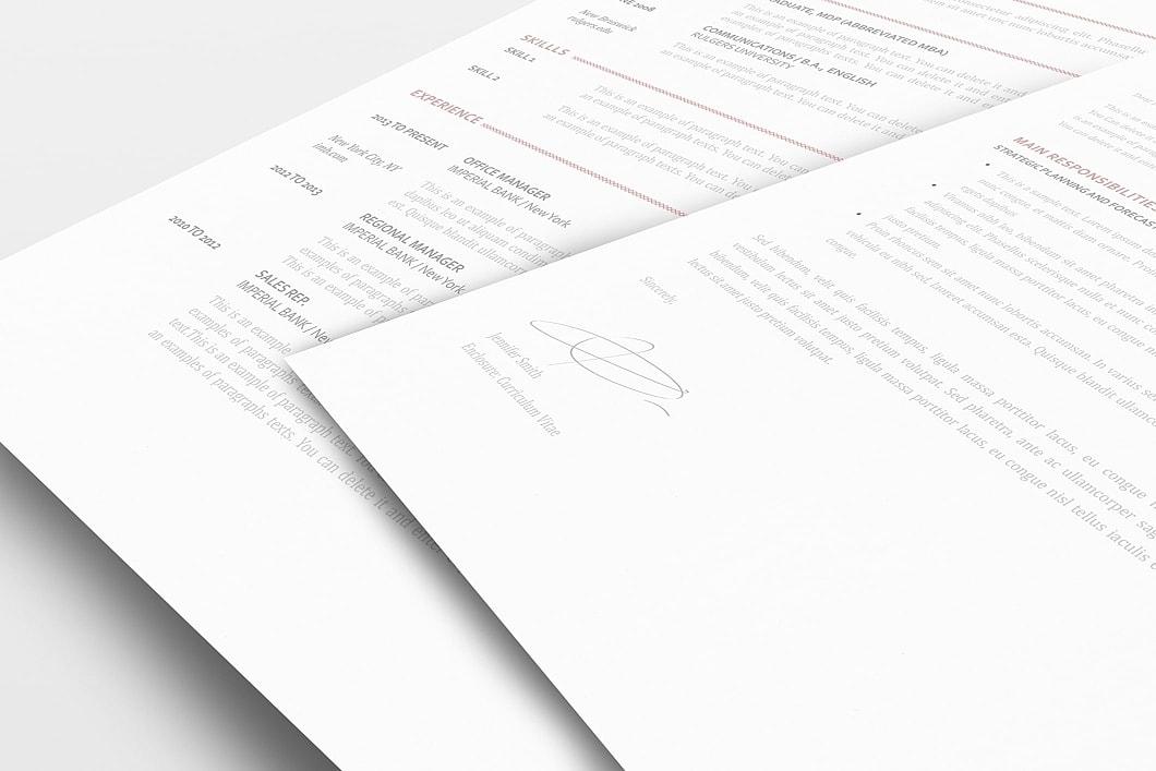 Elegant Resume Template 110900 1