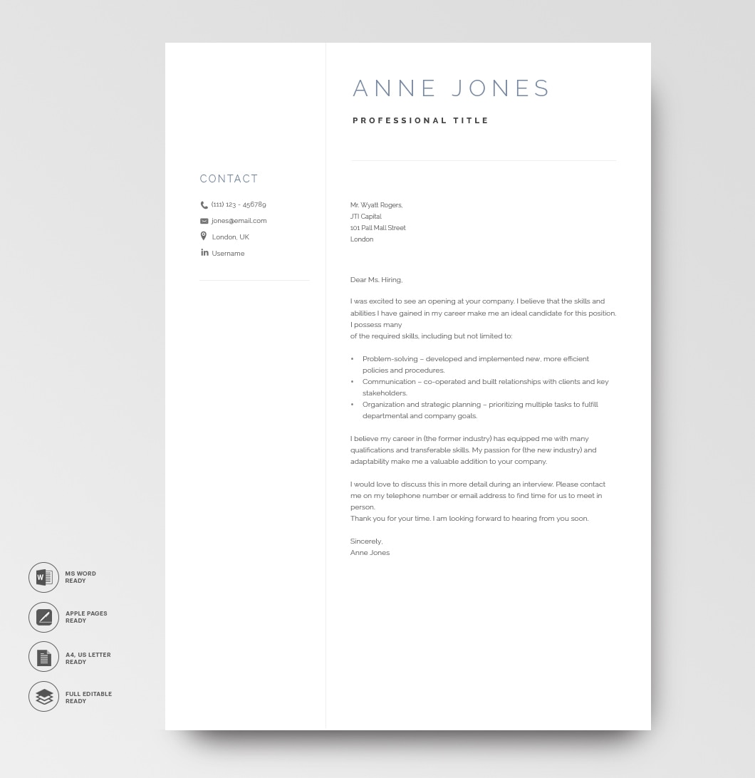 Elegant Resume Template 120970 3