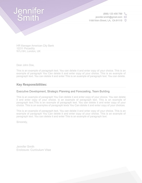 Free Cover Letter 1100030