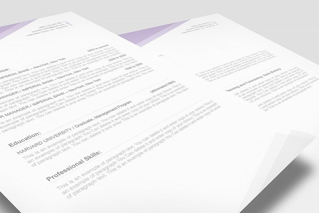 Free Resume Template 1100030 3