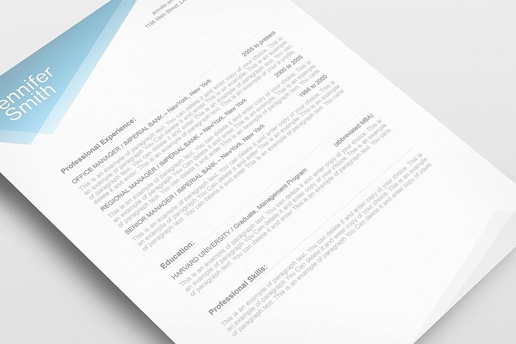 Free Resume Template 1100040 5
