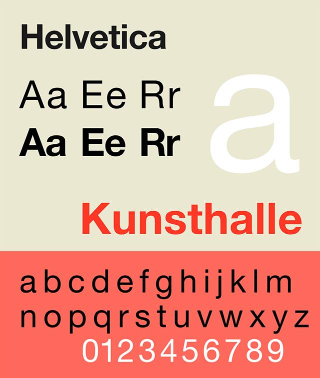 Resume Fonts 2020 - Helvetica Font