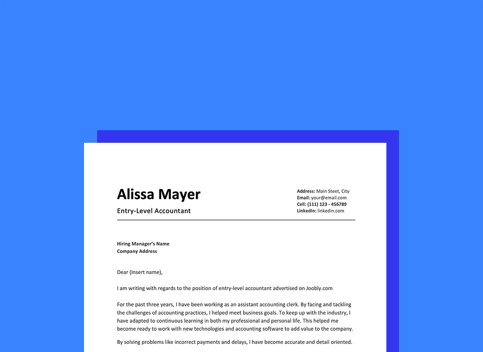 How To Write A Cover Letter With No Experience In 9 Steps