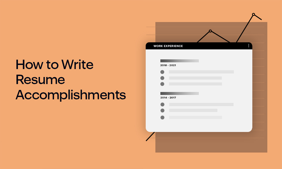 How To Write Resume Accomplishments