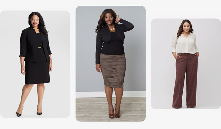 Interview Outfits For Plus Sized