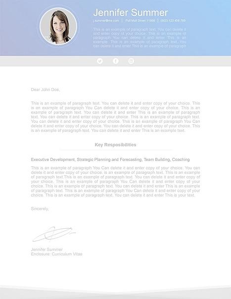 Modern Cover Letter 110630