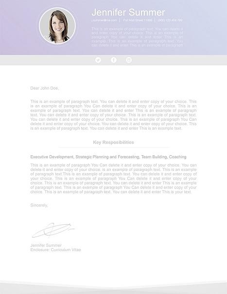 Modern Cover Letter 110640