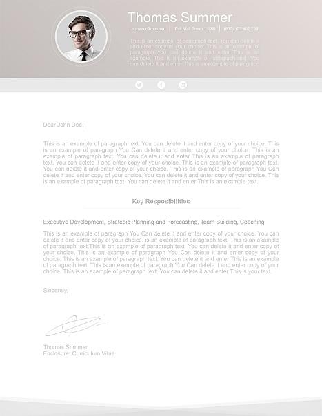 Modern Cover Letter 110650