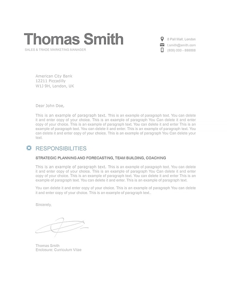Modern Cover Letter 110810