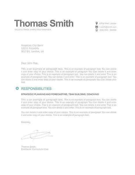 Modern Cover Letter 110820