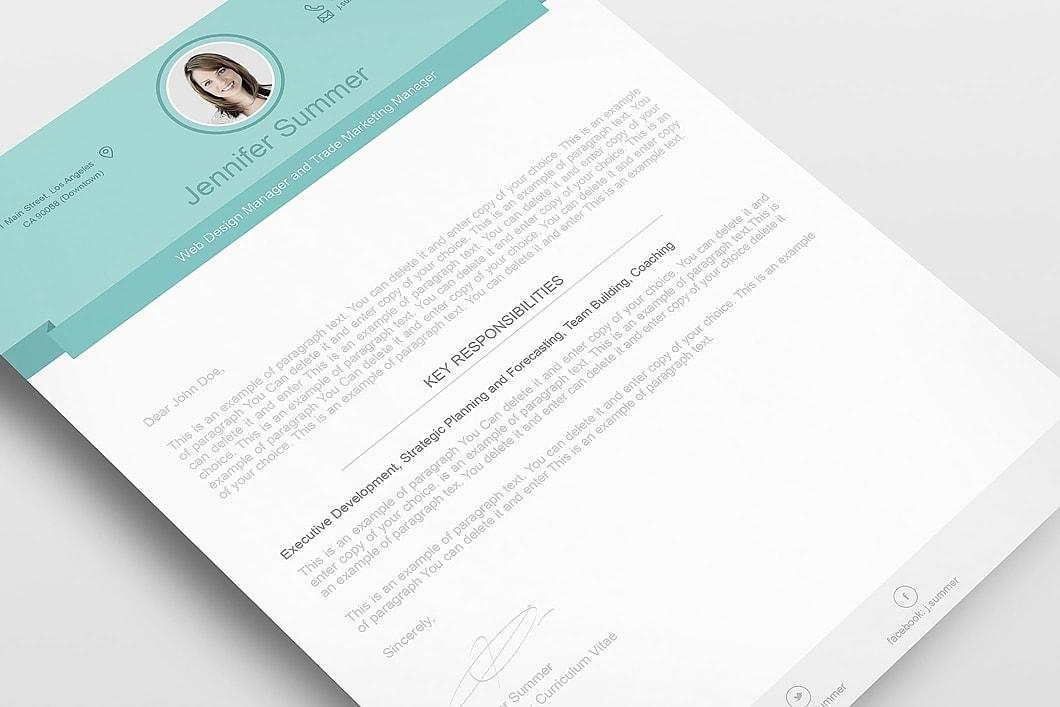 Modern Resume Template 110470 6