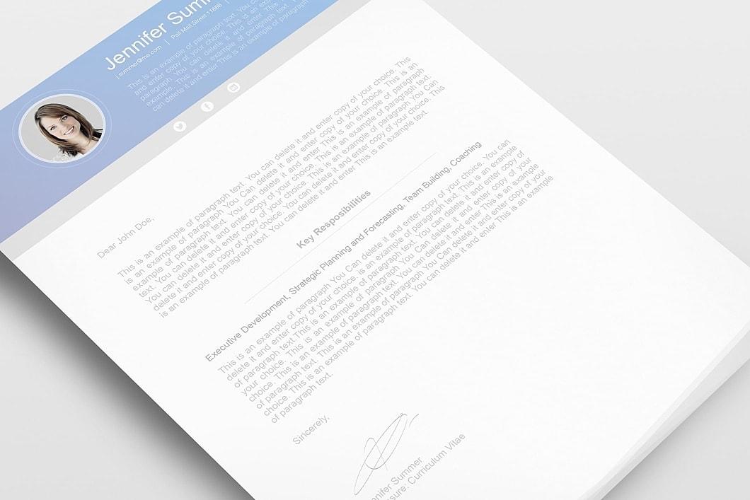 Modern Resume Template 110630 4